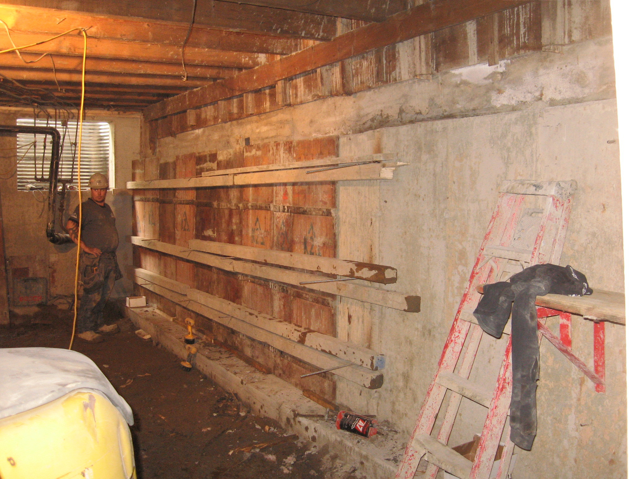 Completed projects as expert in excavation in montreal for Basement foundations construction